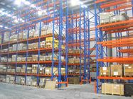 cremalheira industrial do shelving do sistema profundo dobro convencional do racking da pálete 1000kg